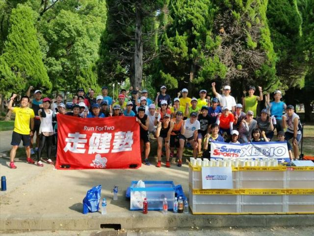 【大阪・森ノ宮】ランニングユナイテッド 20~30kmロング走 第2回